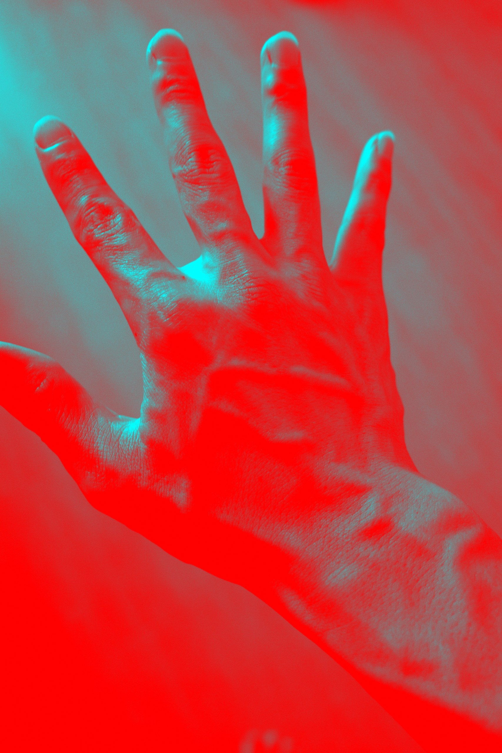 hand teal ERIC KIM