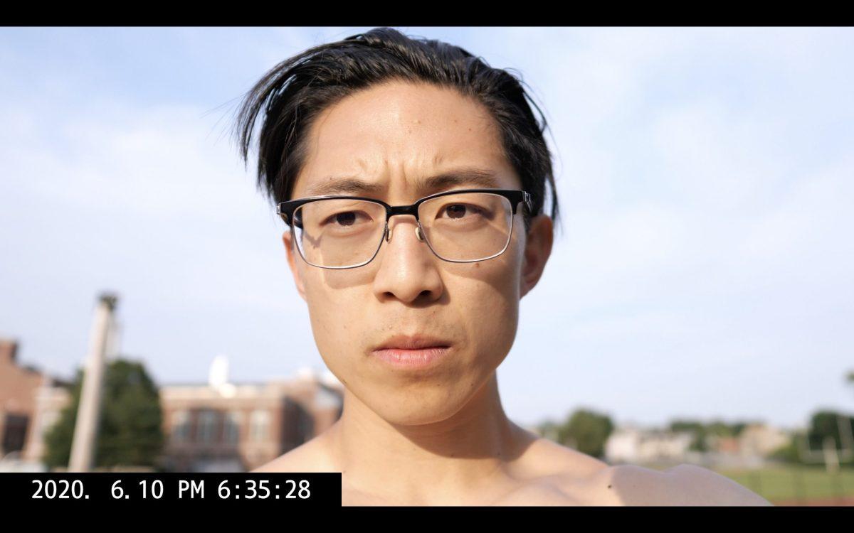 Selfie ERIC KIM hair