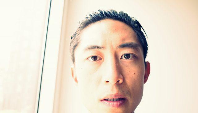 selfie ERIC KIM face no glasses