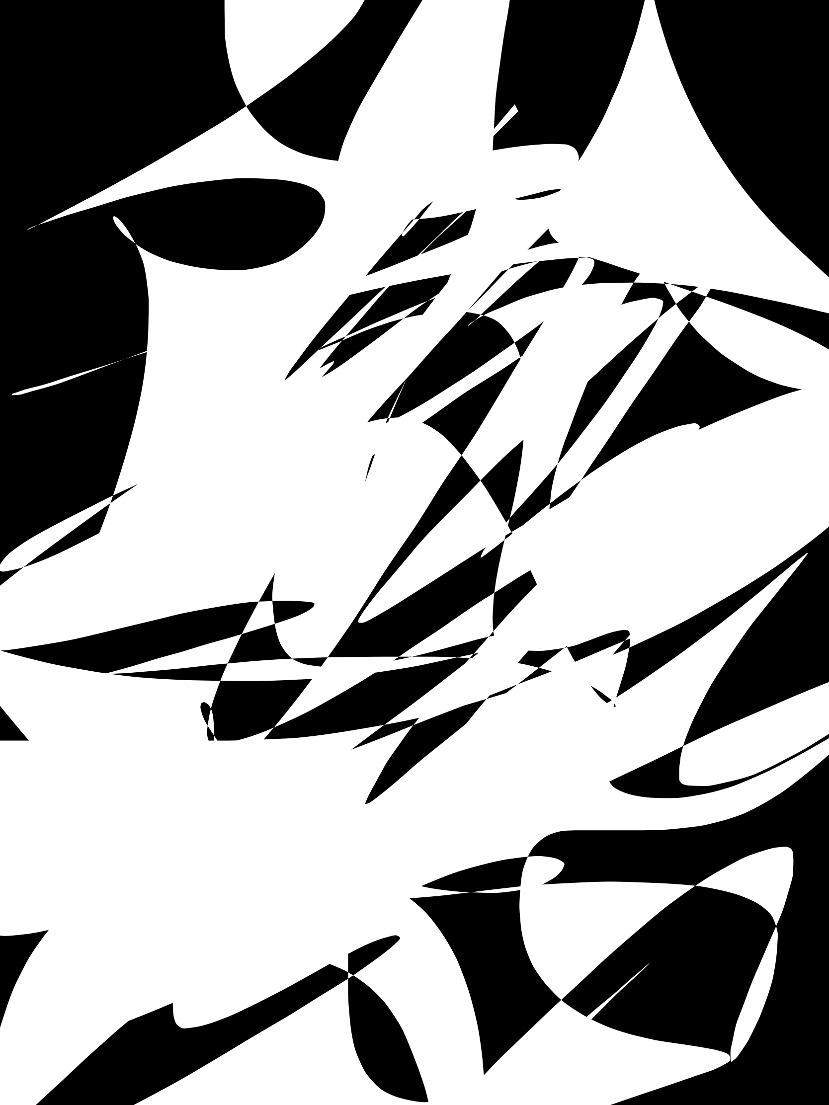 Black white abstract ERIC KIM
