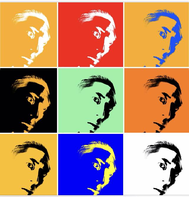 Collage ERIC KIM pop art