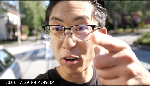 ERIC KIM pointing