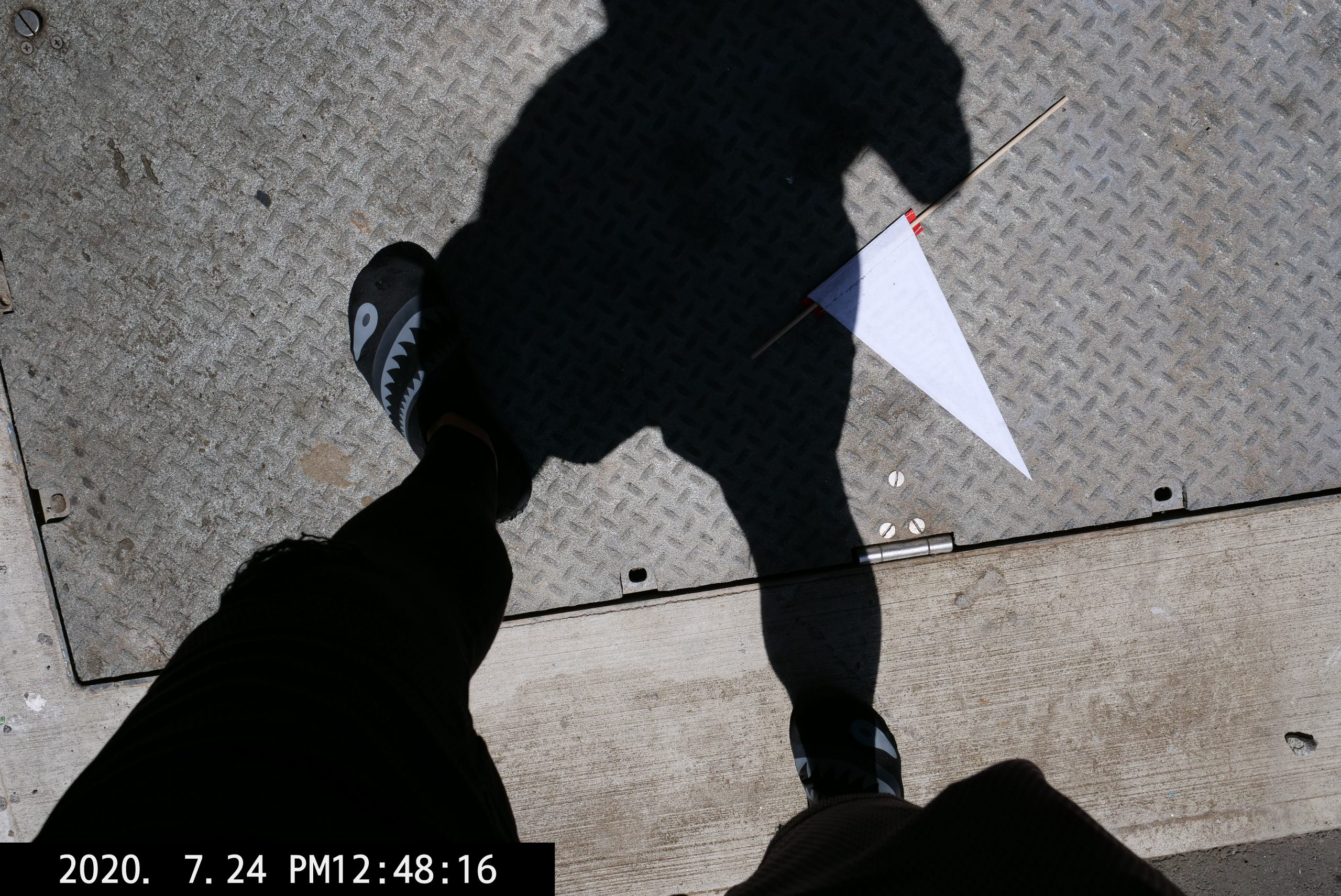 selfie foot ERIC KIM