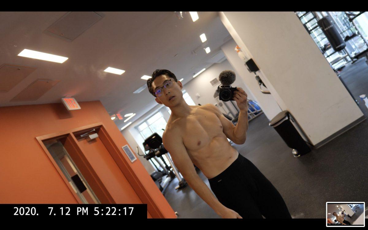 selfie muscle ERIC KIM