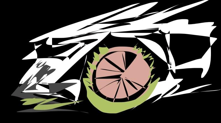 audi wheel abstract