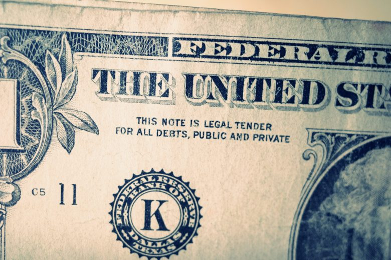 Money dollar Bill ERIC KIM