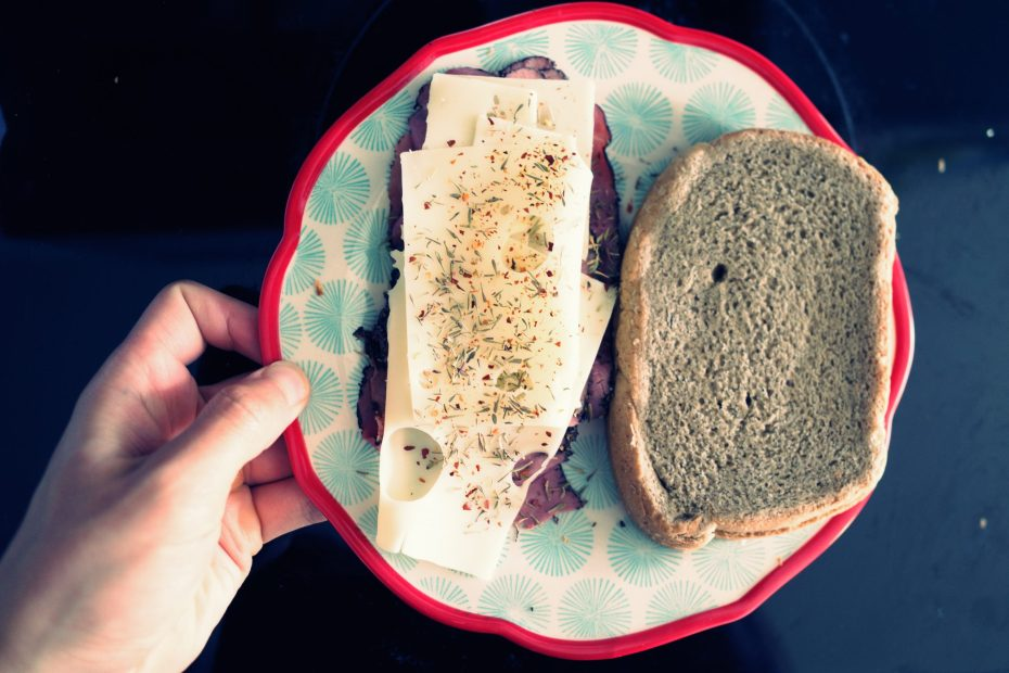 hand sandwich for cindy
