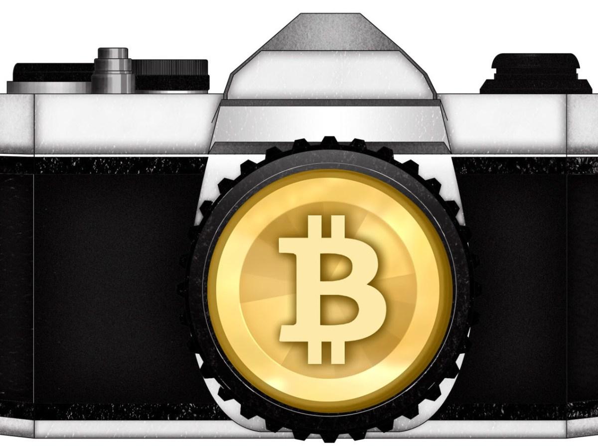 gold camera bitcoin money ERIC KIM