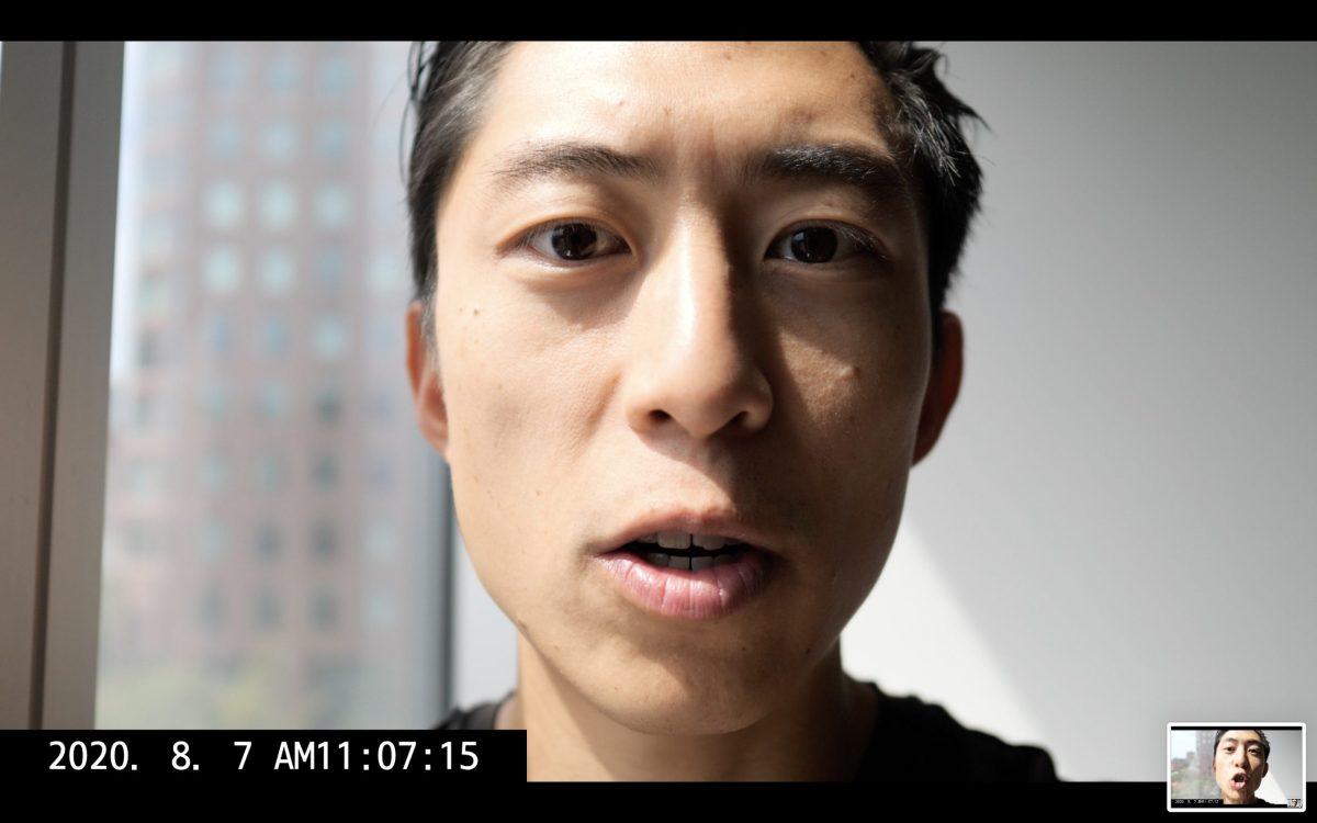 selfie ERIC KIM talking