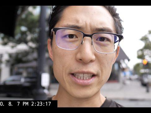 selfie ERIC KIM vlog talking