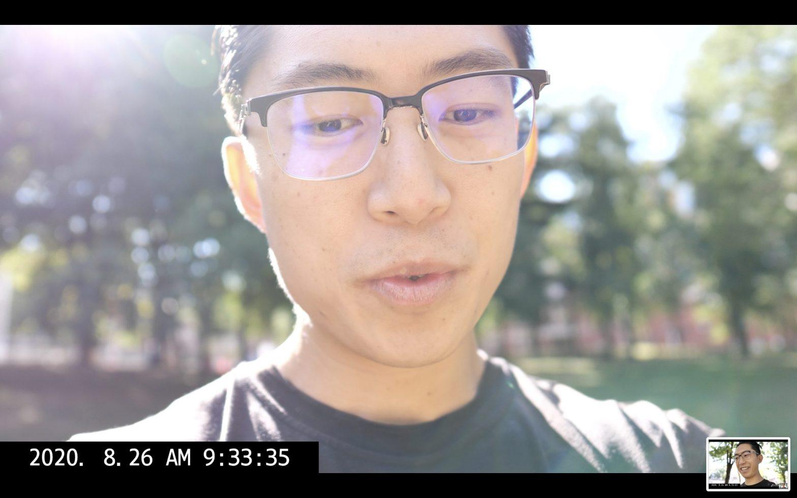 talking selfie ERIC KIM