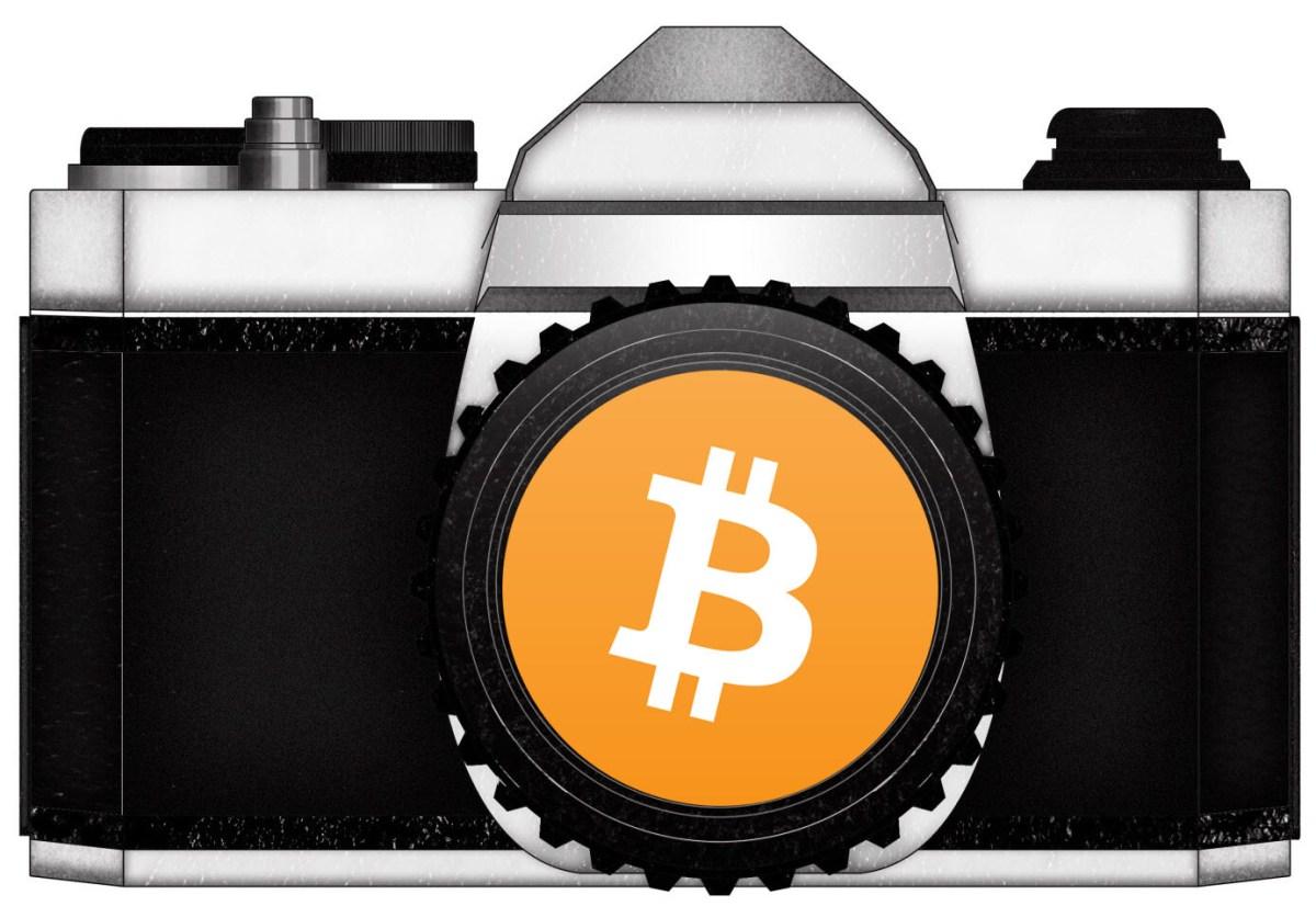 orange bitcoin tilt camera ERIC KIM