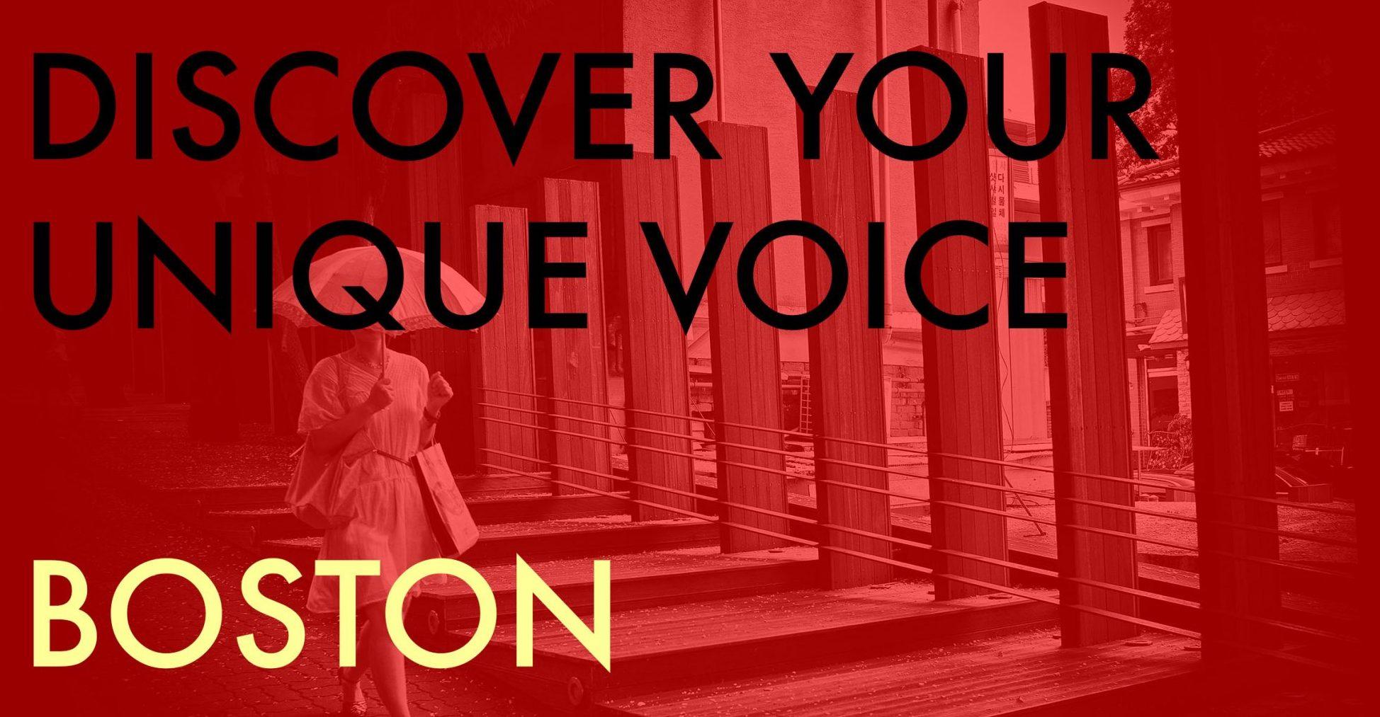 discover your unique voice Boston-2020-workshop-eric-kim-2000x1334