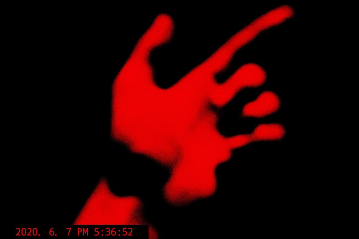 red hand ERIC KIM