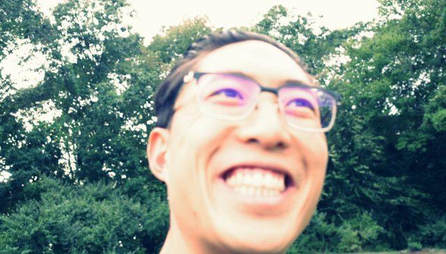 smile ERIC KIM selfie