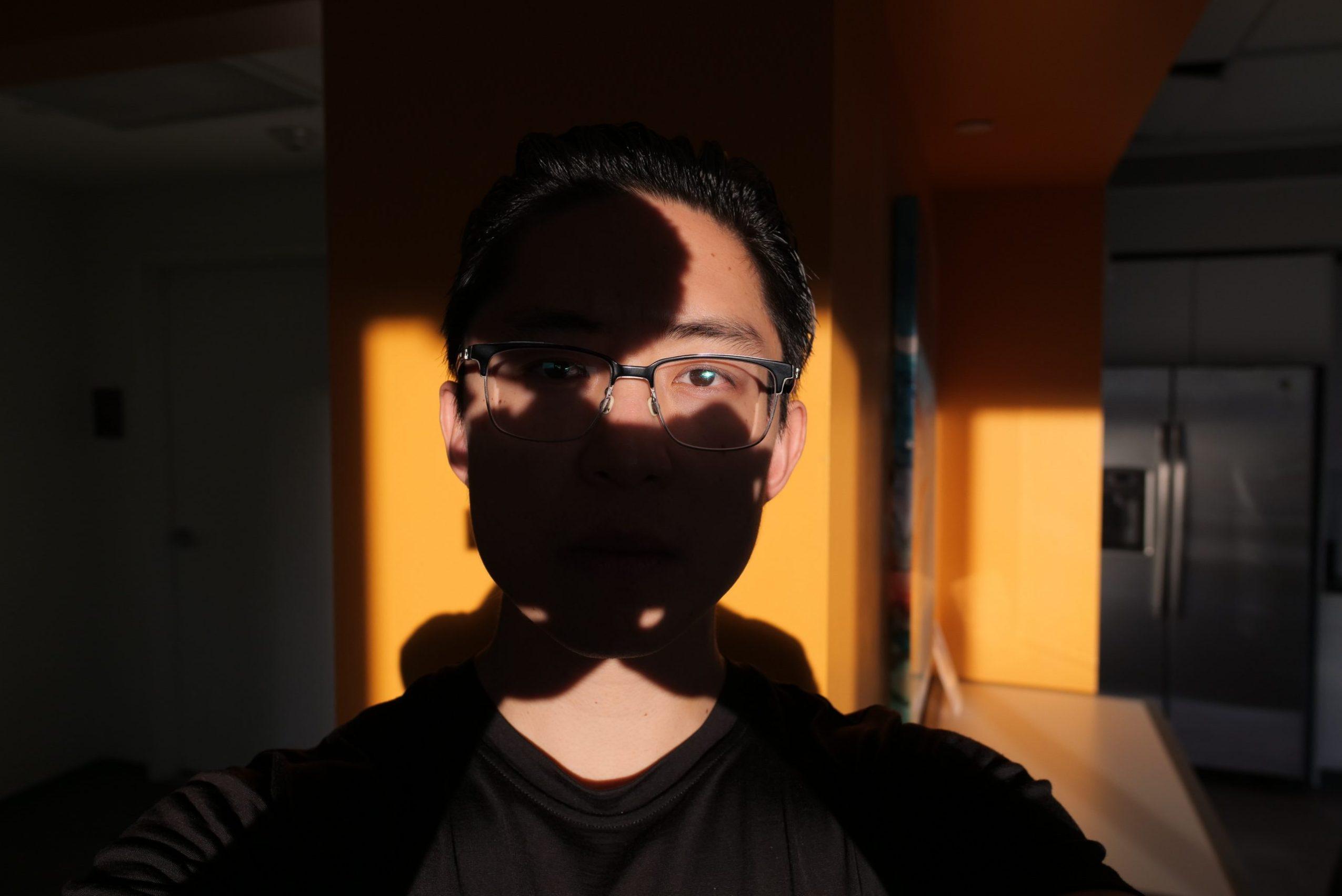 selfie black yellow ERIC KIM