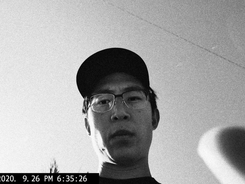 selfie black and white ERIC KIM