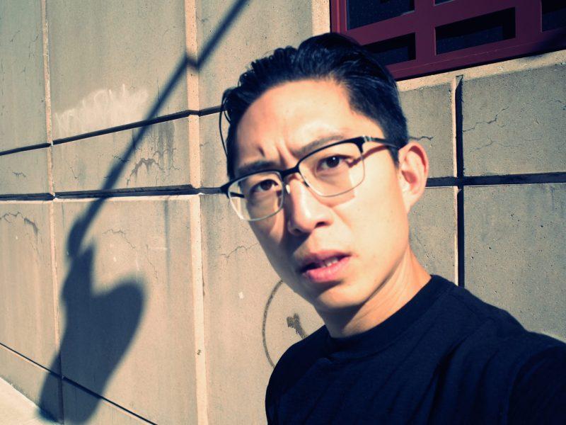 selfie ERIC KIM dramatic light