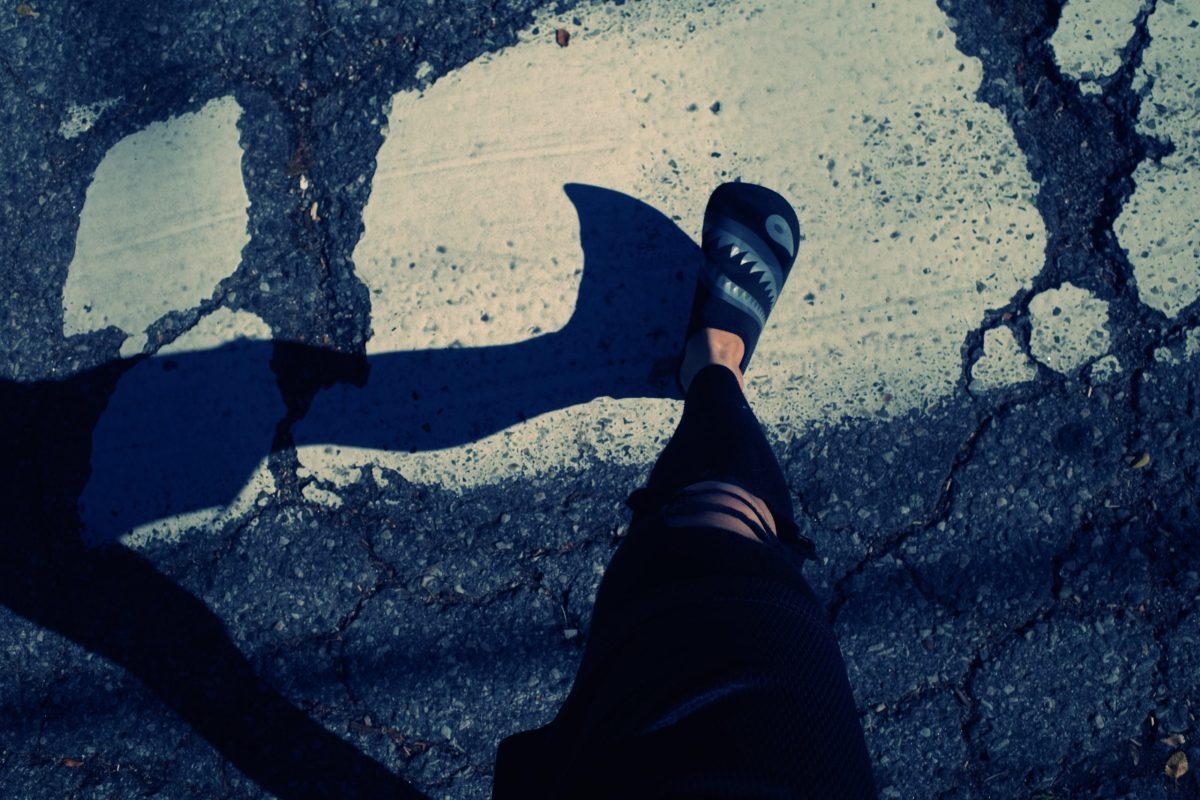 foot walking