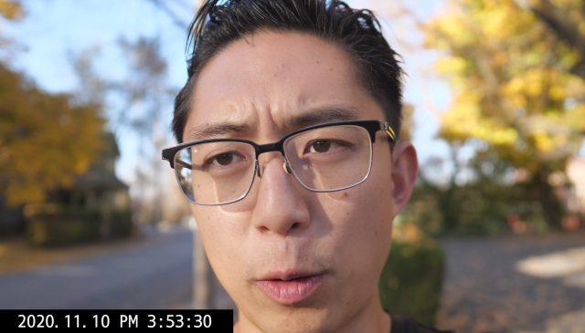 selfie vlog ERIC KIM talking