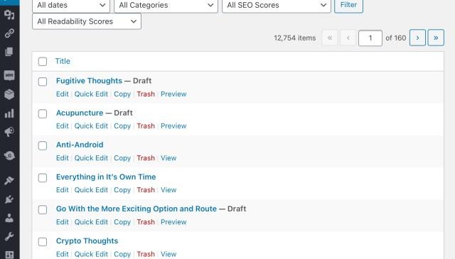 10,000 blog posts