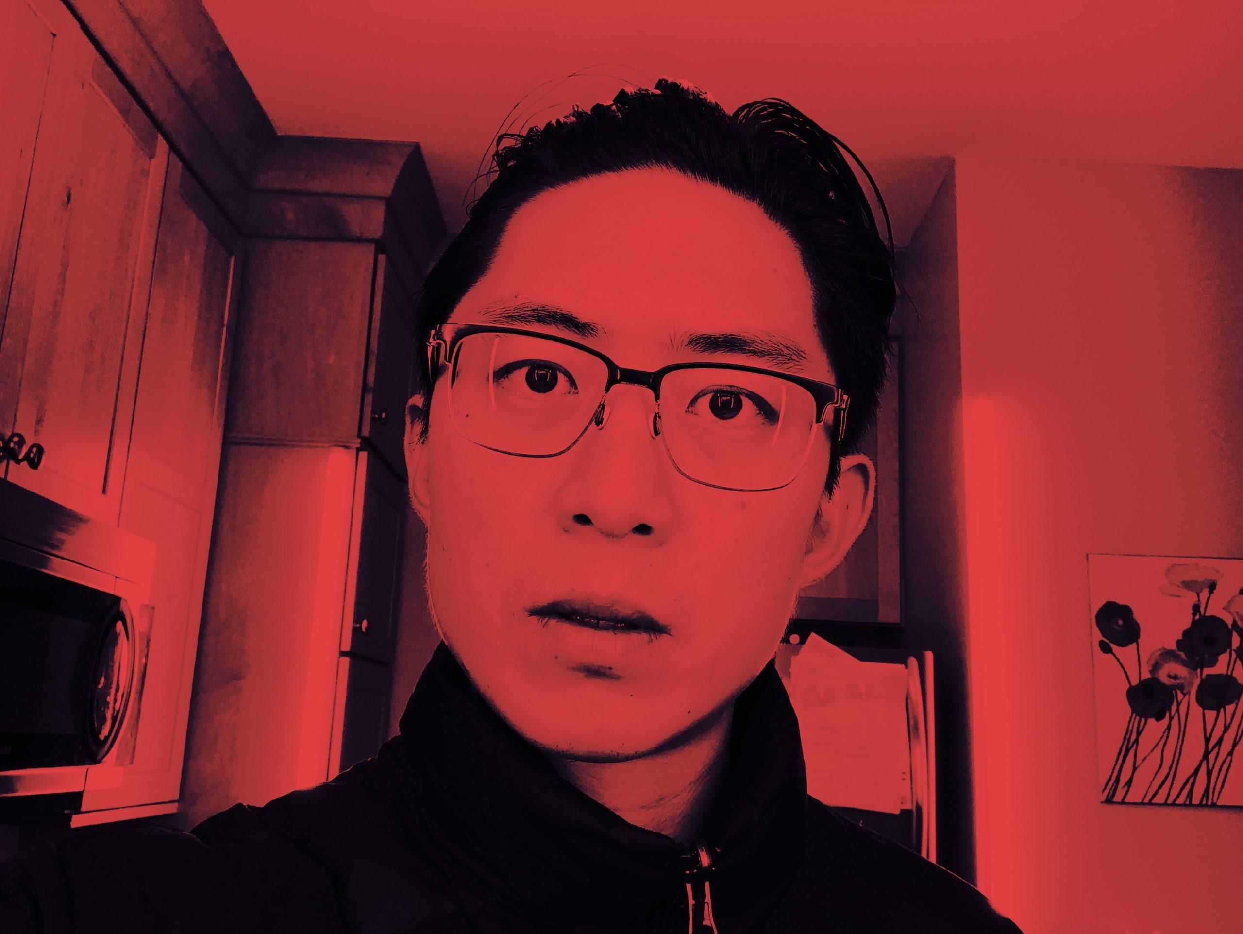 Selfie red ERIC KIM