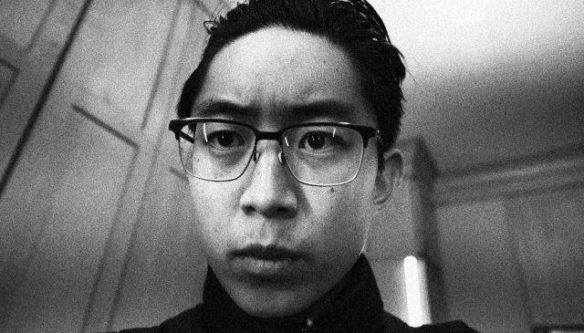 selfie black and white ERIC KIM