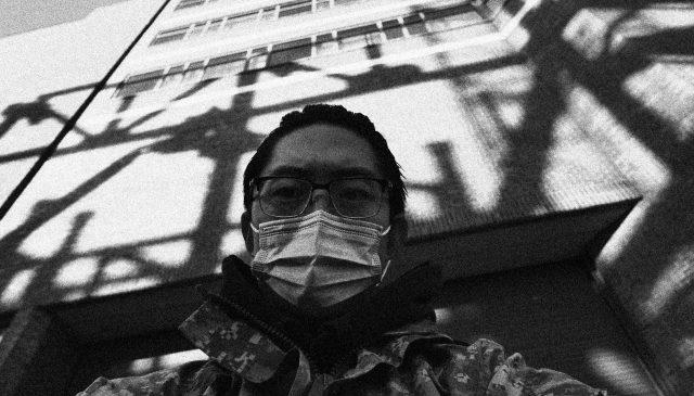 selfie building ERIC KIM