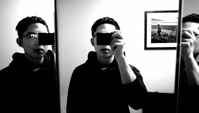 selfie Ricoh gr iii ERIC KIM