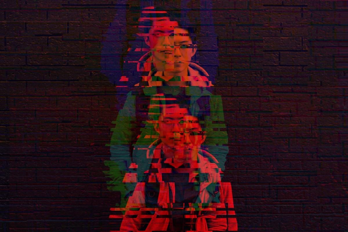 glitch red ERIC KIM