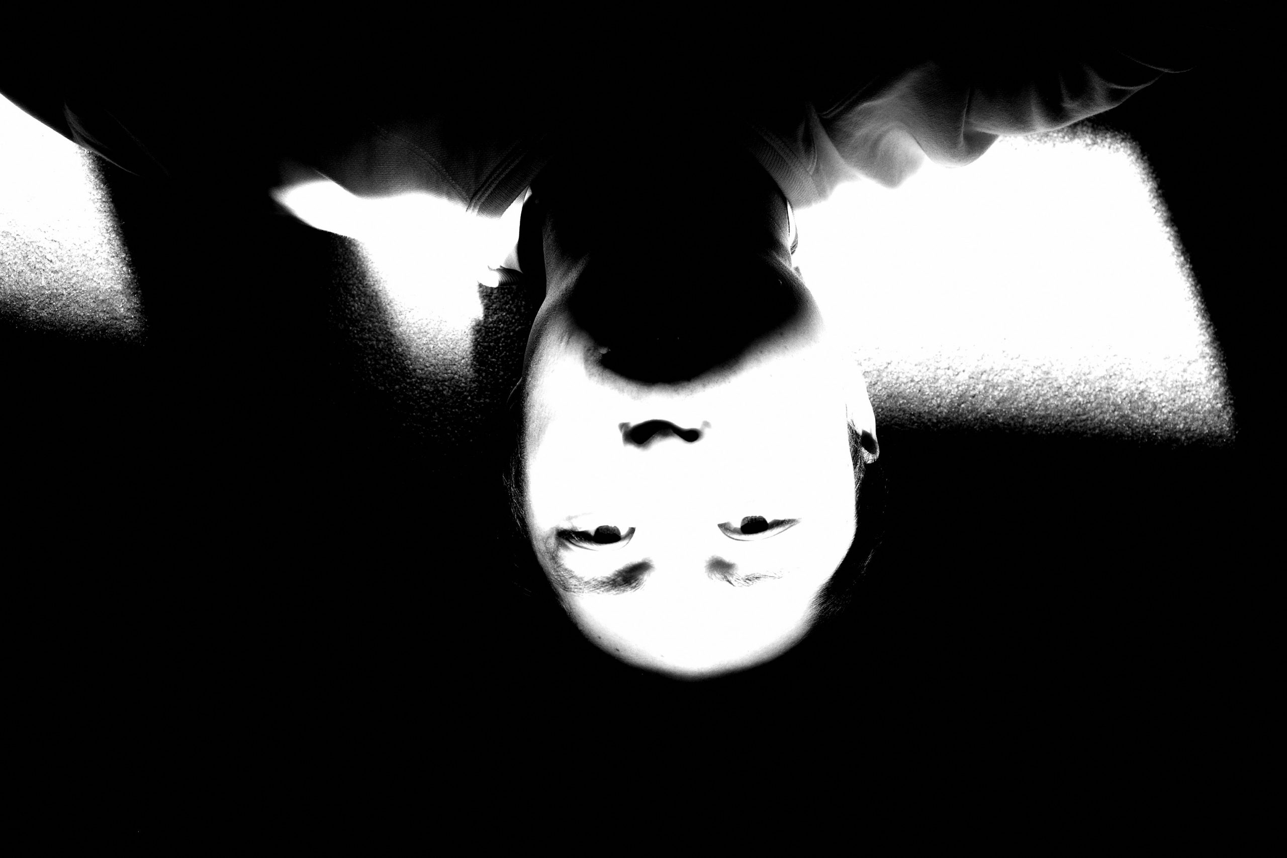 Upside down selfie ERIC KIM