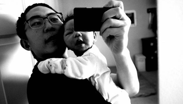selfie ERIC KIM and seneca