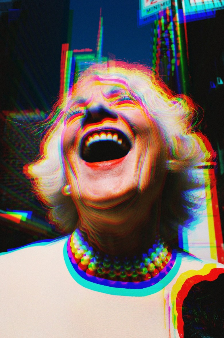 laughing lady chromatic