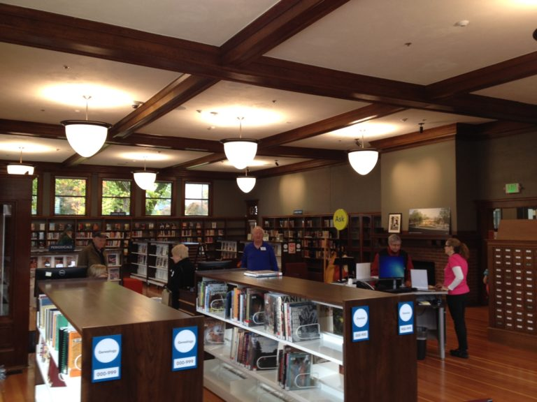 Small Towns: A New Library In Oregon City