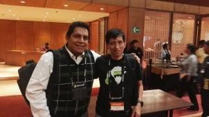 Con Edgar Sánchez
