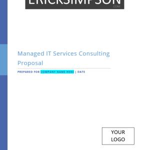 Erick Simpson's Managed IT Services Sales Proposal