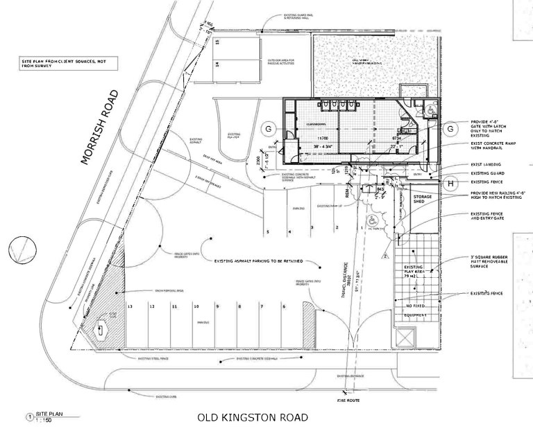 Montessori Site Plan