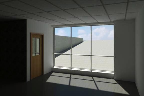 Classroom window view