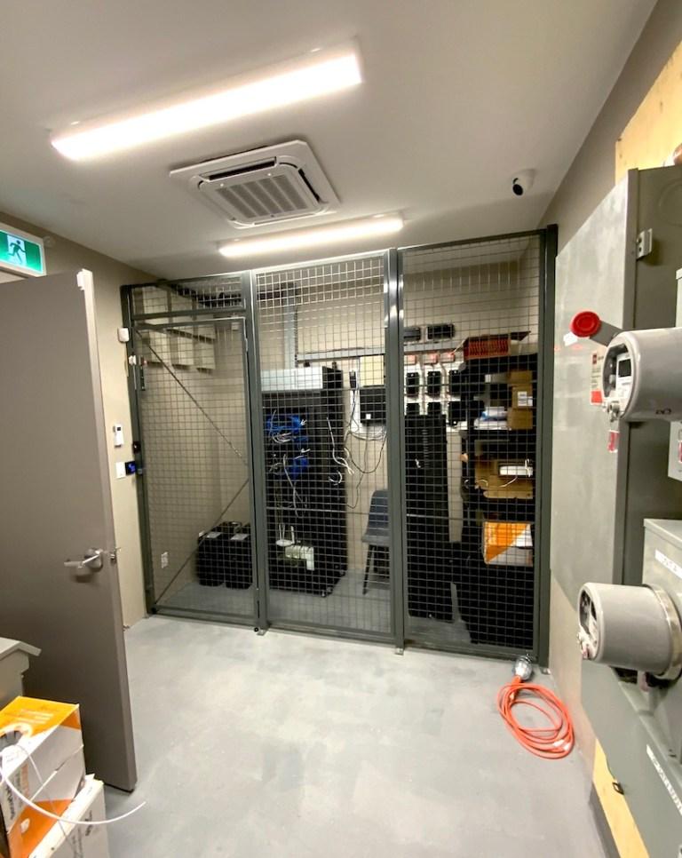 Power data room.
