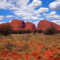 Kata Tjuta (Uluru - Kata Tjuta National Park), Red Center