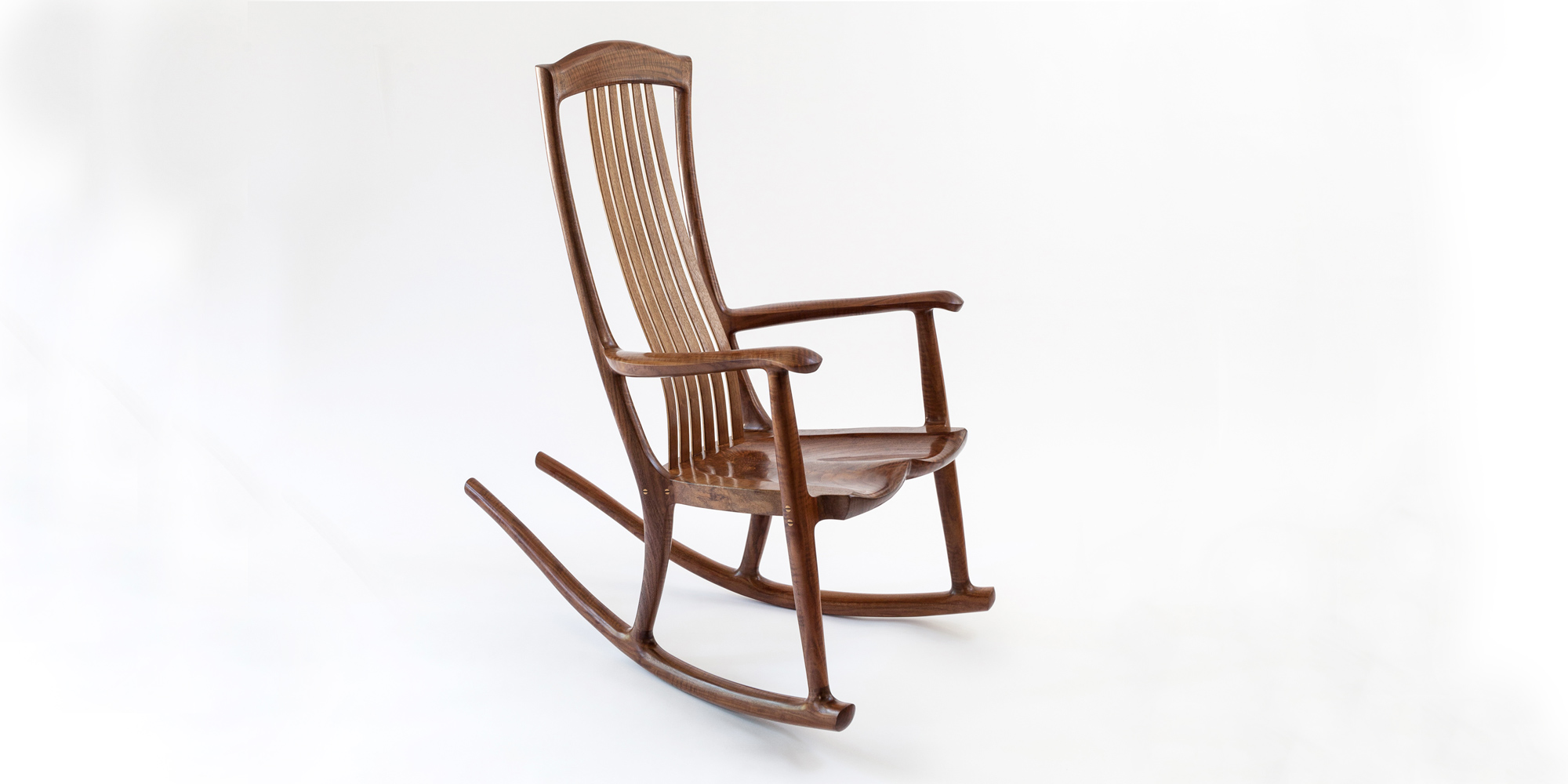 handmade rocking chairs purple chair covers for wedding south yuba rocker erickson woodworking our signature