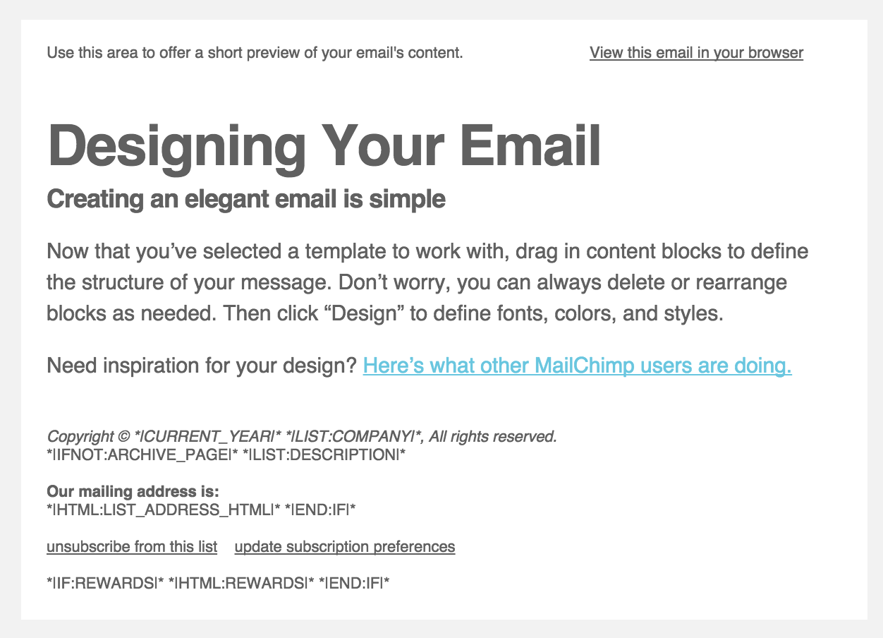 Adding Custom Fonts to Mailchimps Drag and Drop Email Designer