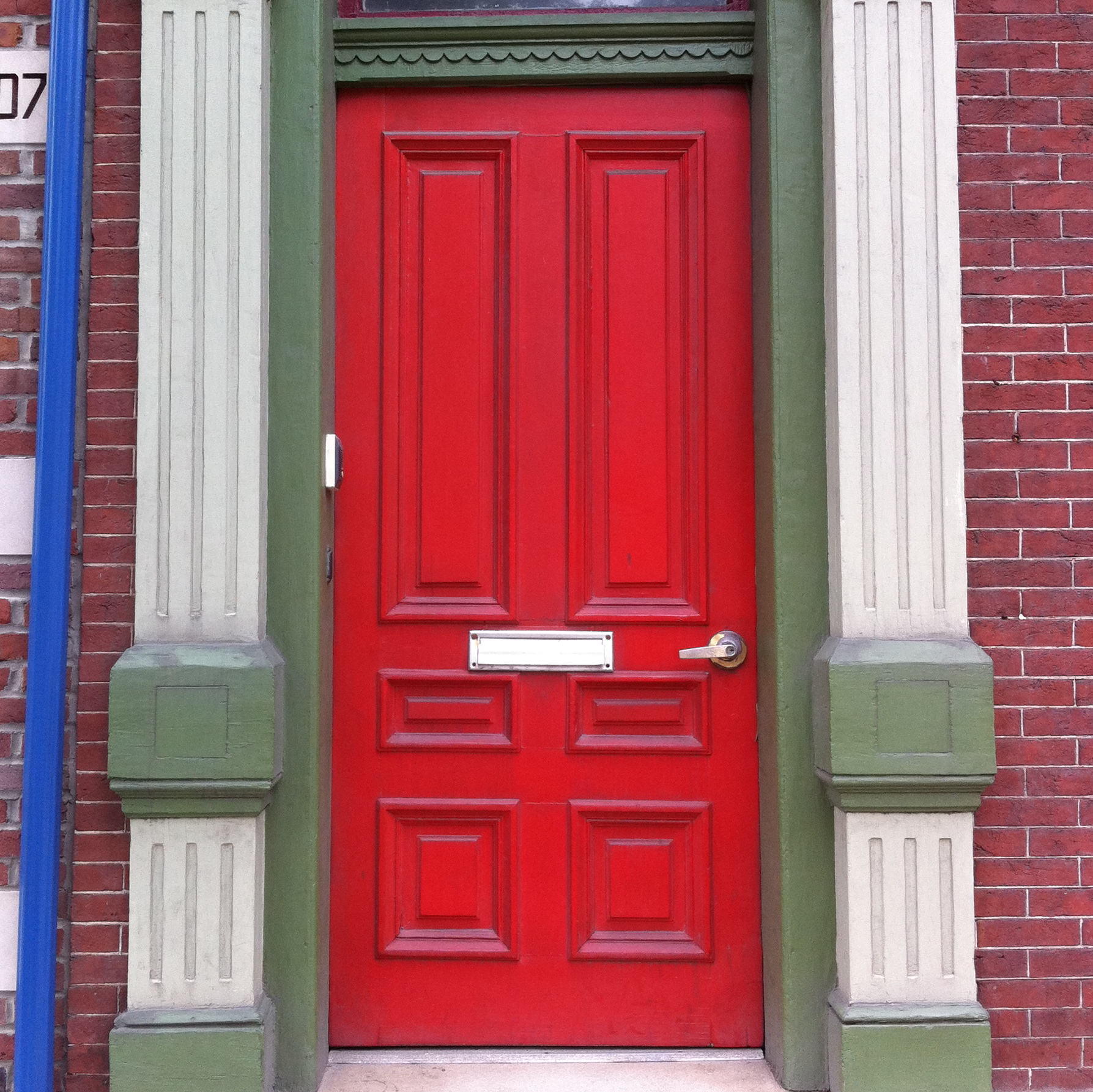 Red Doors: Lawrenceville House I