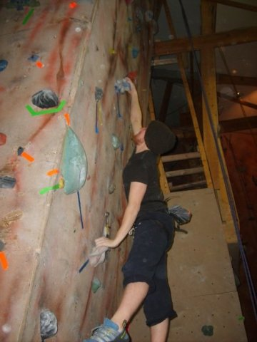 Started up Rock Climbing again. I missed it.