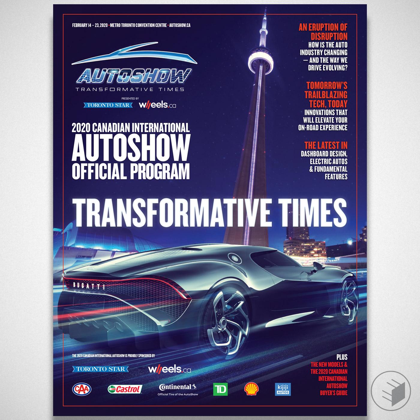 2020 CANADIAN INTERNATIONAL AUTOSHOW PROGRAM COVER