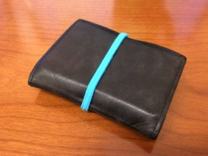 Picture of Wallet with Ponytail Holder
