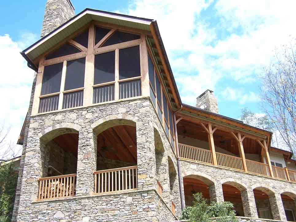 Timber Frame Homes: Portfolio by master craftsman Eric Moerschel