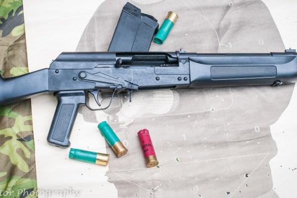 Lynx-12 shotgun