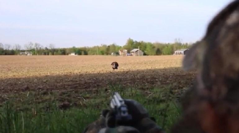 handgun turkey hunt