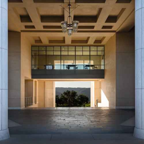 Orange County Soka Library Architecture Photography